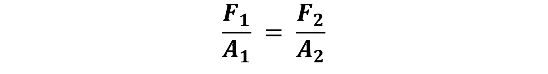 فرمول اصل پاسکال