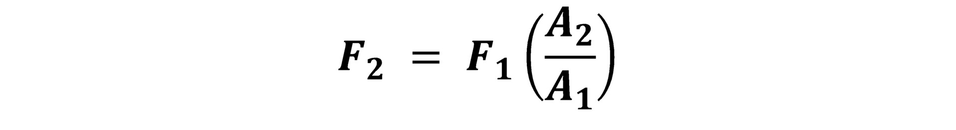 فرمول اصل پاسکال چبست؟