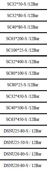 لیست موجودی جک پنوماتیک HPC